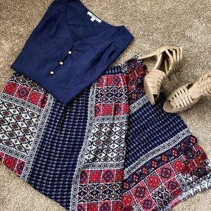 Long skirt and top